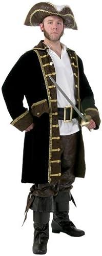 Men's Plus Größe Realistic Pirate Fancy dress costume 5X