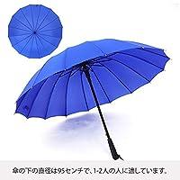傘 長傘 梅雨対策 高強度 24本骨 超撥水耐風 丈夫 大型 紳士傘 自動開けステッキ傘 レディースメンズ晴雨兼用傘 大きな傘 付き