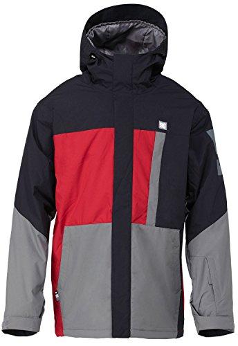 DC Shoes Snow Jacke Amo 15 - Chaqueta de esquí para Hombre, Color Rojo, Talla XL