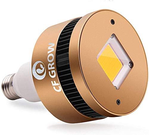 COB LED Pflanzenlampe 150W Pflanzenlicht Glühbirne E27 Pflanzenleuchte CFGROW Vollspektrum 3500K Warmweiß Wachstumslampe für Zimmerpflanzen, Zelt Wachsen, Hydroponische Pflanzen und Gemüse