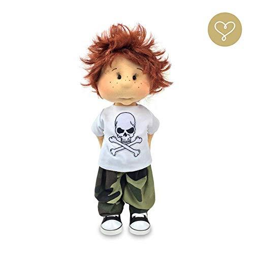 Max Puppenjunge Handmade personalisierbar