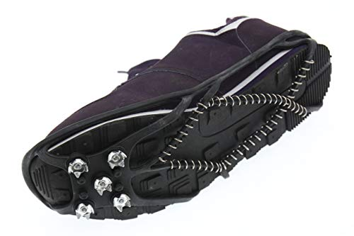 slidefix Schuhspikes Anti Rutschgefahr. Hilft bei Schnee & EIS. Ideale Lösung im Winter und sorgt für sicheres Laufen, Wandern oder sorgenfreie Spaziergänge im Schnee und auf EIS.