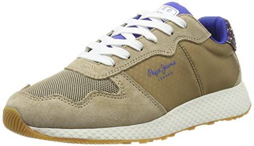 Pepe Jeans London Damen KOKO Sky Sneaker, Braun (Stone 856), 37 EU