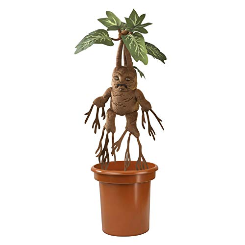 The-Noble-Collection-Harry-Potter-Mandrake-Interactive-Plush-with-Pot-Officially-Licensed-10in-30cm-Electronic-Plush-Toy-Dolls-Gifts