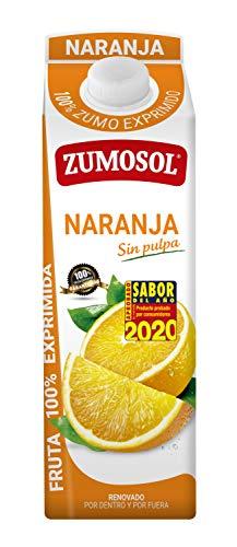 Zumosol Zumo de Naranja Exprimida sin Pulpa Envase, 1L