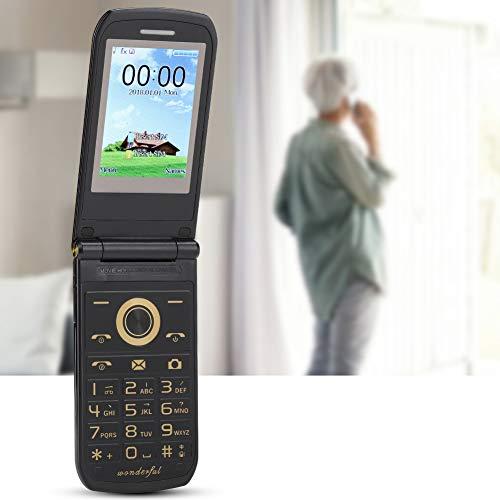 Teléfono con Teclado Gun Color, teléfono para Personas Mayores fácil de Usar, para niños Mayores(European regulations)