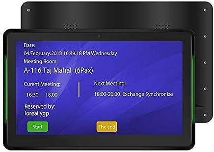 Tablet PC comercial, 15.6 pulgadas, 2GB + 8GB, Android 5.1 RK3288 Octa Core Cortex A17 de hasta 1.8GHz, soporte Bluetooth y WiFi y Ethernet y OTG con luz indicadora LED Durable ( Color : Black )