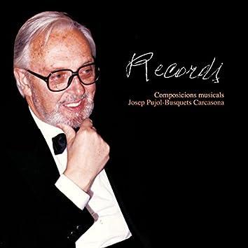 Records - Composicions Musicals Josep Pujol-Busquets Carcasona
