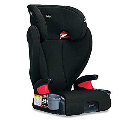 Britax Skyline 2-Stage Belt-Positioning Booster Car Seat, Dusk - Highback and Backless Seat from AmazonUs/BRVTX