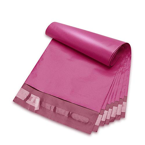 Fuxury 6x9 1000pc Pink Poly Mailers Shipping Envelops Self Sealing Envelopes Boutique Custom Bags Enhanced Durability Multipurpose Envelopes Keep Items Safe Protected