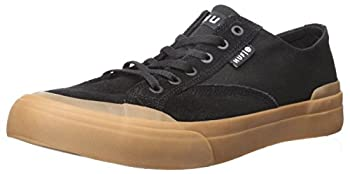 HUF Men s Classic LO ESS Skate Shoe Black/Gum 4 Regular US