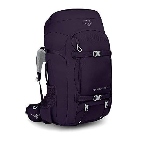 Osprey Fairview Trek 70, zaino da viaggio per donna - Amulet Purple O/S