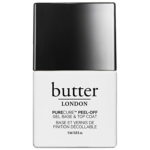 butter LONDON Purecure Peel-Off Gel Base And Topcoat