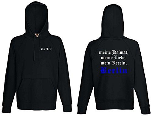 world-of-shirt Herren Kapuzensweat Berlin Ultras Meine Heimat