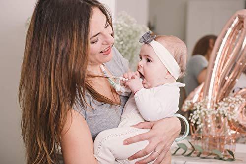MintyWendy Marie Mint - Cadeau femme enceinte et maman - Saint valentin livraison rapide Collier de portage et d'allaitement.
