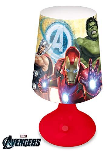 Kids Avengers Lampe de bureau à piles Multicolore 18 x 9 cm
