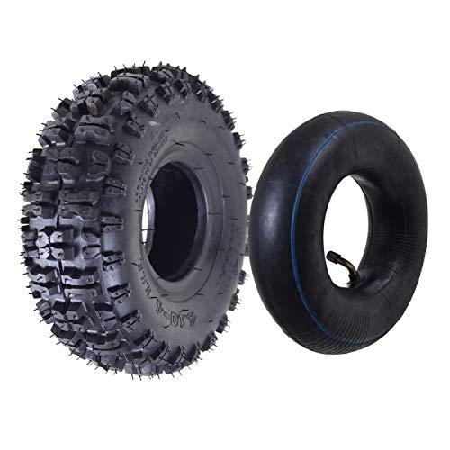 For Sale! WPHMOTO 4.10/3.50-4 Tire and Inner Tube Set for Garden Rototiller Snow Blower Go Cart Kid ...