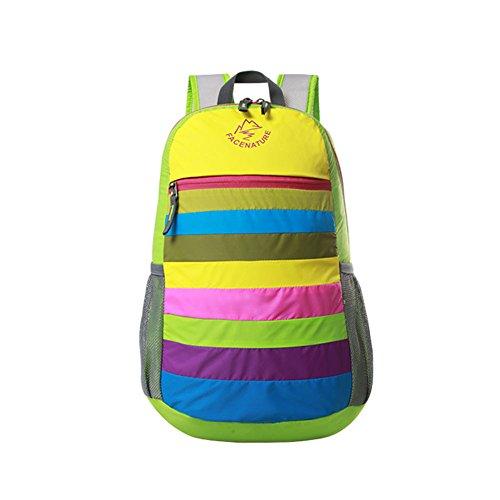 Arc Packable Handy Voyage à dos pour les filles / garçons, Vert