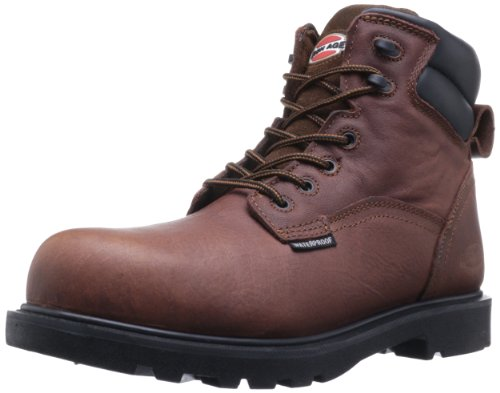 Iron Age Men's Ia0160 Hauler Industrial and Construction Shoe, Brown, 9.5 W US