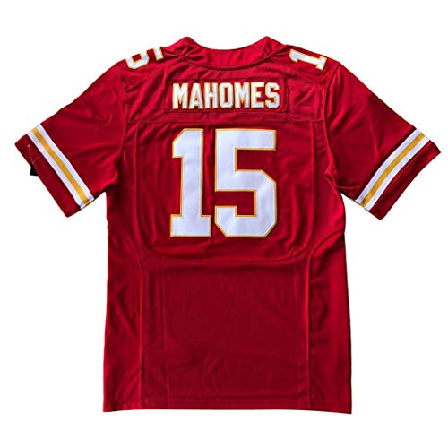 Embroided Men's Ma_Home #15 Fans Sports Fashion Jersey Red (Red, XXXL。)