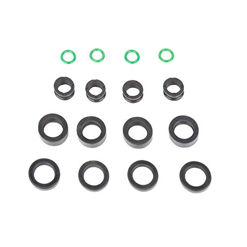 The Injector Shop 4-510 Fuel Injector Rebuild Seal Kit for Honda Acura