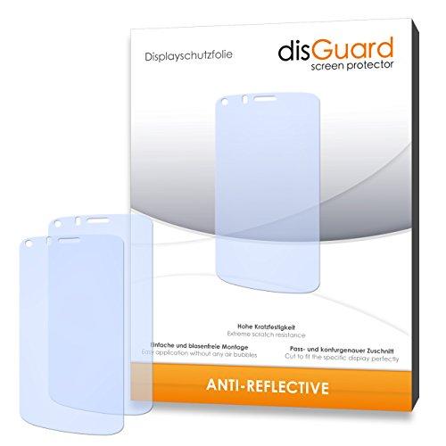 disGuard® Bildschirmschutzfolie [Anti-Reflex] kompatibel mit Gionee Pioneer P3 [4 Stück] Entspiegelnd, Matt, Antireflektierend, Extrem Kratzfest, Anti-Fingerabdruck - Panzerglas Folie, Schutzfolie