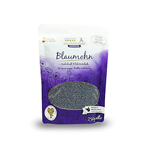 WachtelGold Blaumohn 250g - ideal in der Kükenaufzucht - Lebensmittelqualität