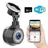 Caméra de Voiture WiFi, WiMiUS Dashcam Voiture FHD 1080P 170° Angle, Enregistreur...