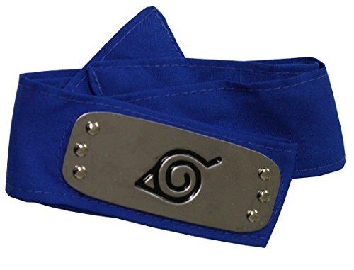 pidak Banda Ninja con Cosplay de Placas de Metal de Color Azul Hoja Shop -