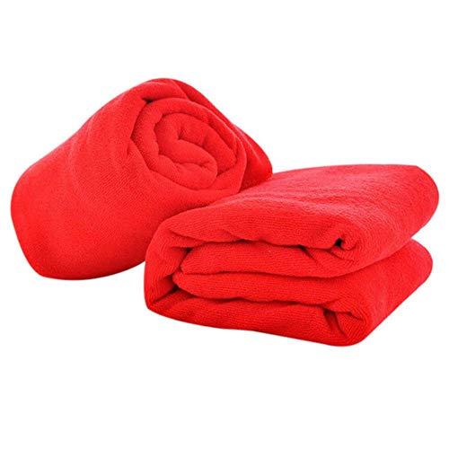 DACCU Toallas de algodón Absorbente Toallas de Mano Toallas de baño Toallas de baño y Toallas de baño Gigantes, como Muestra la Imagen