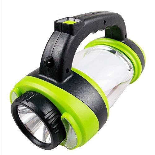 WJH9 Antorcha Recargable Linterna Aire Libre Reflector