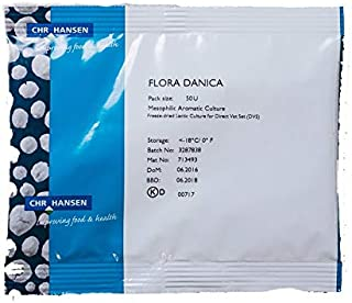 Flora Danica, CHR Hansen, Mesophilic Aromatic Culture, 50DCU, Approx. 3 TBLS.