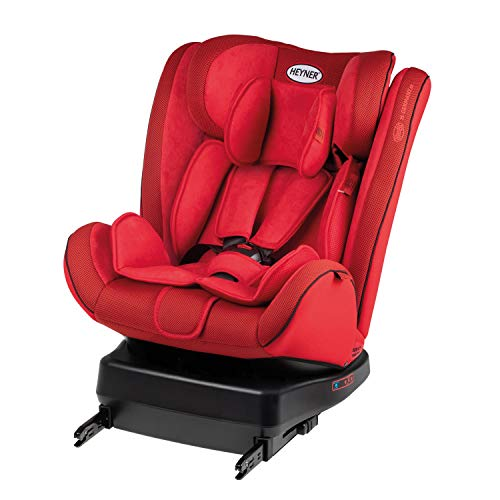 Drehbarer Reboarder Kindersitz Rückwärtsgerichtet HEYNER (Racing Red)