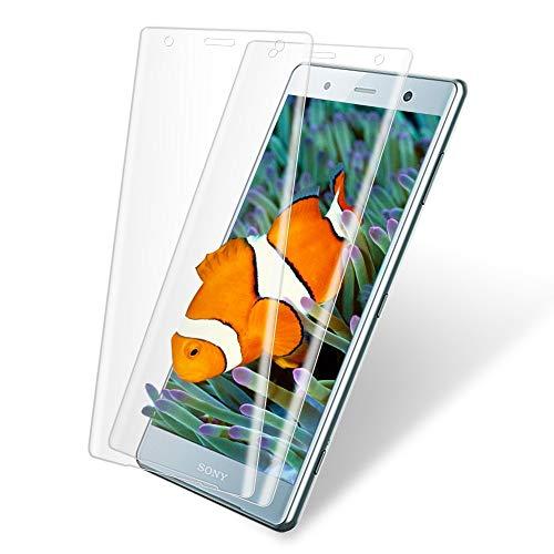 XperiaXZ2Compact ガラスフィルム XZ2Compact フィルム SO-05K 2枚セット エクスペリアxz2Compact 保護フィルム えくすへxz2コンパクト 強化 ガラス 液晶 保護 画面 指紋防止 貼り付け簡単 気泡ゼロ 硬度9H