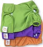 PETTING IS CARING Pañales Lavables para Perros Paquete de 3 Unidades - Pañales para Perras Materiales de la Mejor Calidad MÁQUINA Durable Lavable Solución para INCONTINENCIA XS