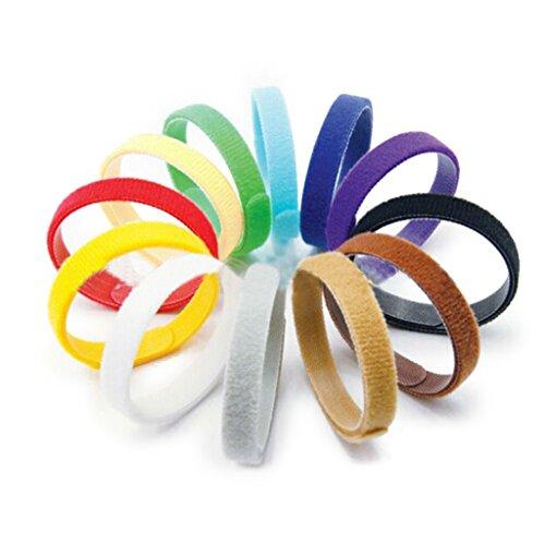 Hündchen Halsbänder Einstellbar Wiederverwendbar Bands Identification ID für Haustiere 12 Farben