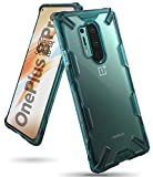 Ringke Fusion X Case Designed for OnePlus 8 Pro - Turquoise Green