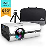 VANKYO L410 Native 720P Projector, 5500 Lumens portable Projector Support 1080P and 180'