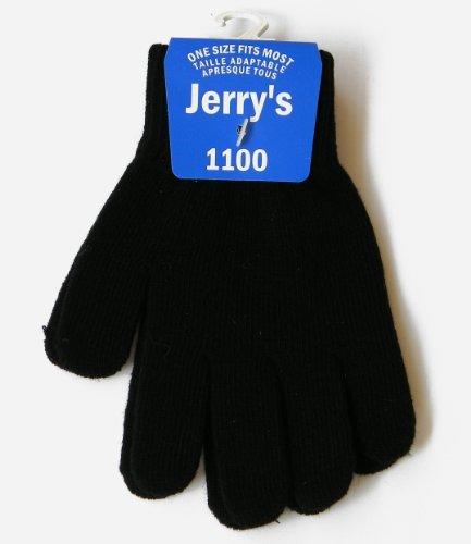 Jerry's Handschuhe 1100 - Einheitsgröße Jugend - schwarz