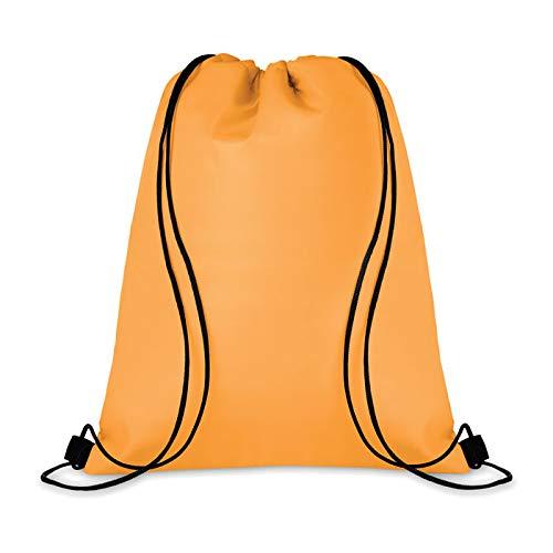 Mid Mochila nevera con revestimiento de aluminio aislante térmico, capacidad 15 l, 33 x 42 cm. Camping, termo alimentos naranja