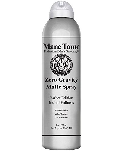 Price comparison product image Mane Tame Zero-Gravity Matte Spray 7oz - Barber Edition: Adds Instant Fullness,  Volume,  Texture and UV Protection. Hair Thickener,  Best used as a Styling Spray with a Matte Finish