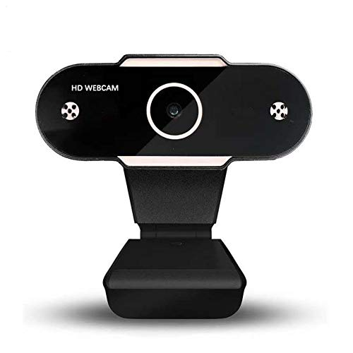Muljexno Webcam PC con Micrófono, Full HD 1080p USB Web Cá
