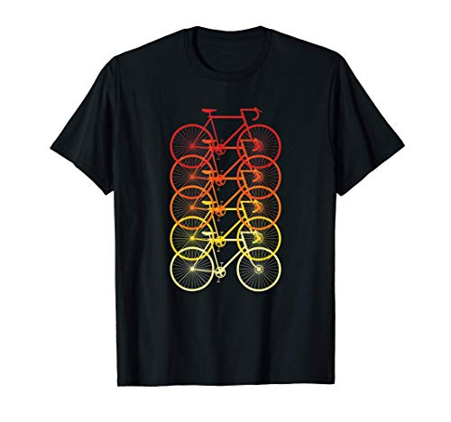Vintage bicycle - Bicycles for cyclists - Retro cycling T-Shirt