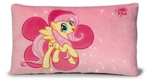 Nici 36532 - My Little Pony Kissen Fluttershy, rechteckig, 43 x 25 cm