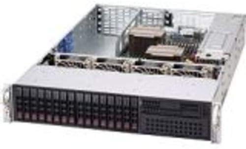 Supermicro SuperChassis SC219A-R920UB System Cabinet - Rack-mountable - Black CSE-219A-R920UB