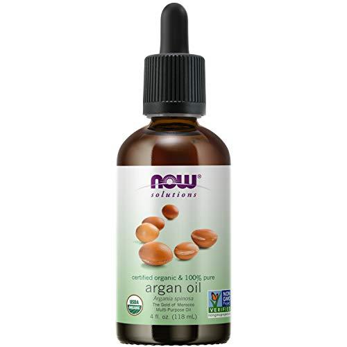 NOW Foods - 100% Pure e Certificado Orgânico Argan óleo - 4 fl. oz.