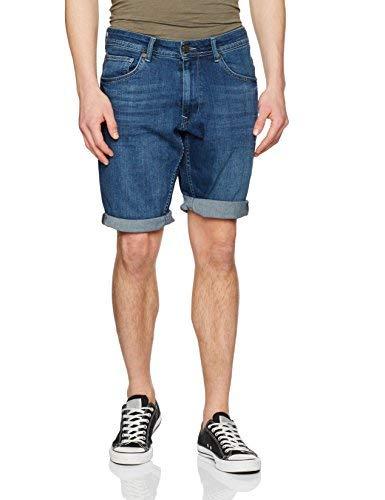 Petrol Industries Bullseye Shorts, Azul (Medium Vintage), L para Hombre