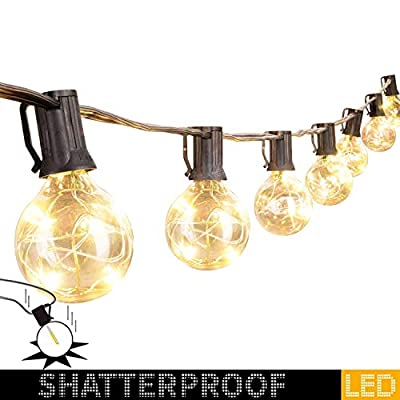G40 Shatterproof Led String Lights for Indoor Outdoor