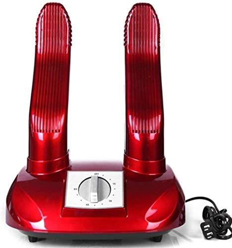 Zapatillas de secado de zapatos Secadora Calentador de arranque, calentador de pie de esquí eléctrico, con temporizador Ozono Evento de desodorante de esterilización, Guantes portátiles Calcetines Cal