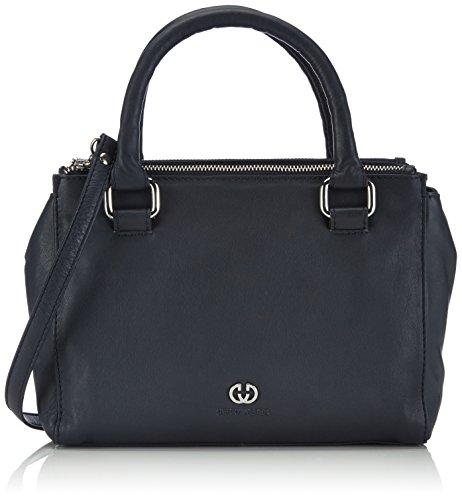 Gerry Weber Damen Piacenza Handbag Henkeltaschen, Blau (402), 26x19x11 cm